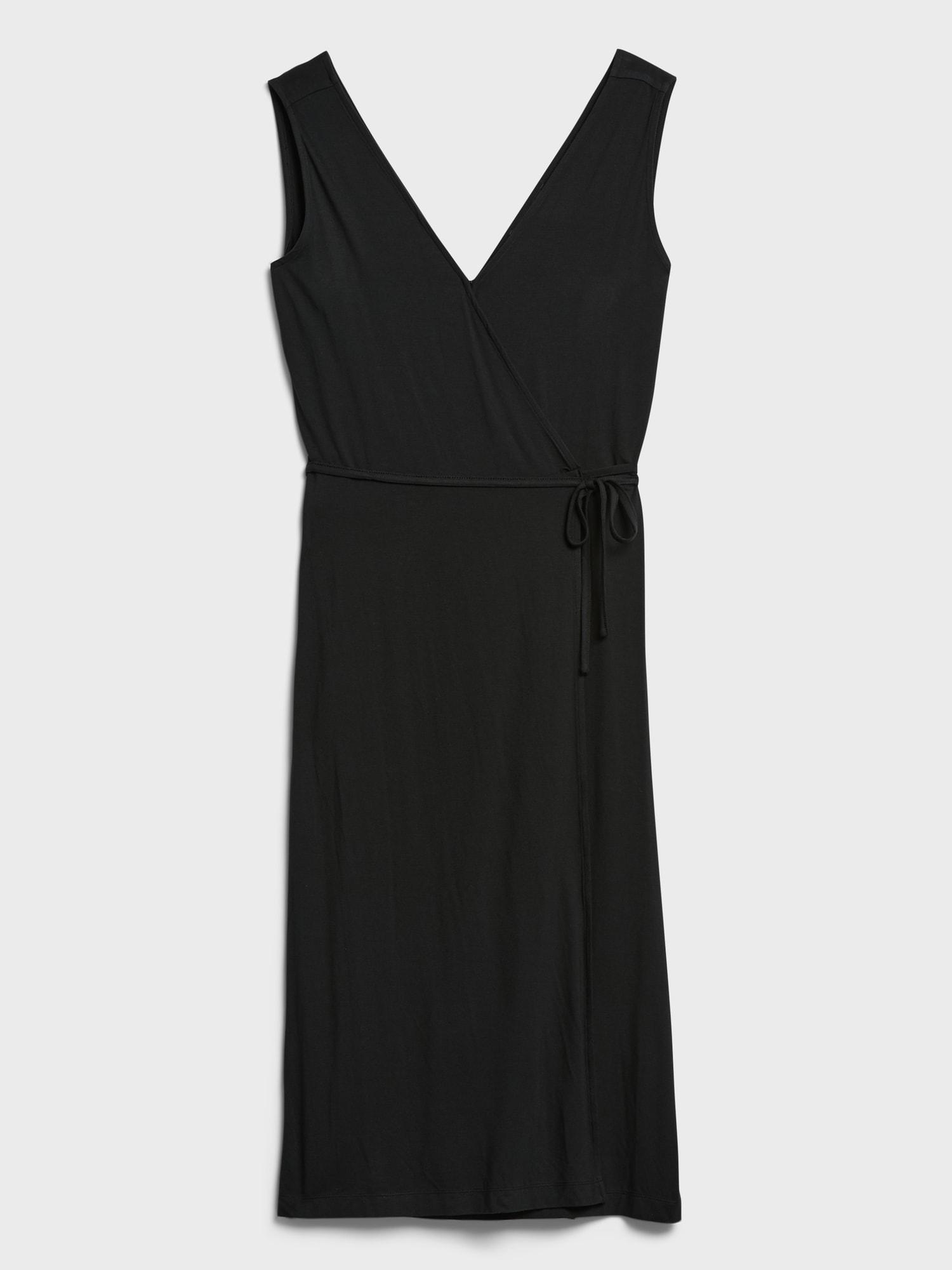 Threadsoft Wrap Midi Elbise001